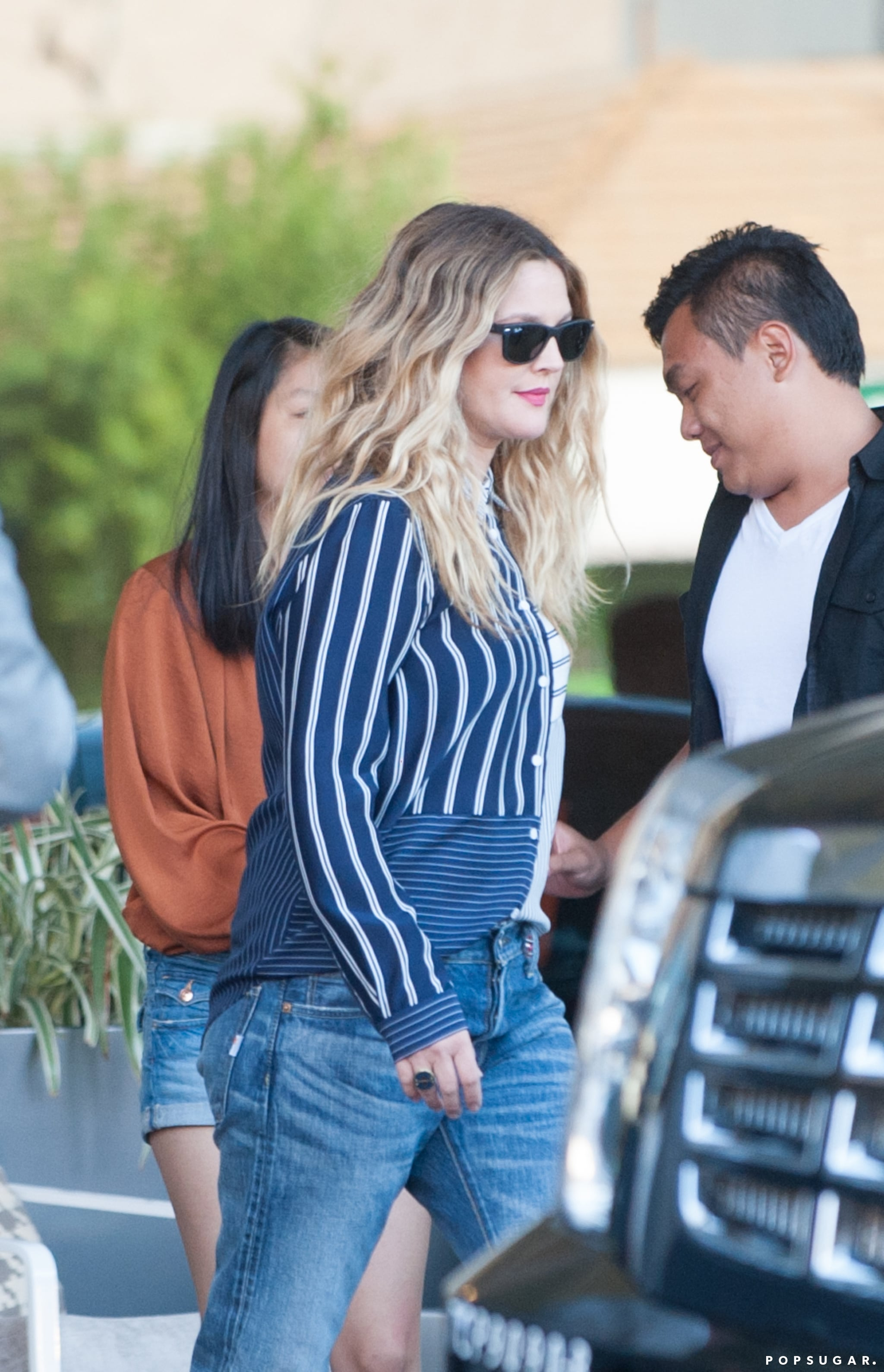 Drew Barrymore Looks Fantastic After Giving Birth to Baby Frankie!
