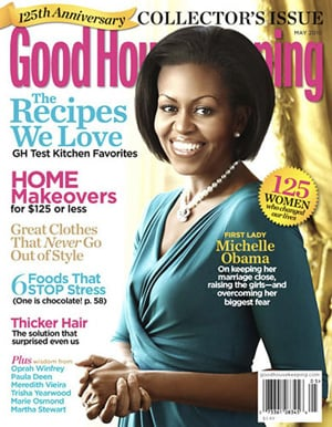 Michelle Obama Talks About Getting Tired From Working Out in Good Housekeeping