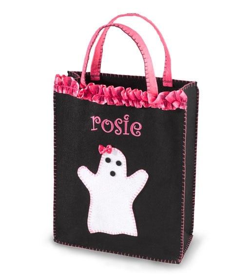 Personalized Girly Ghoul Treat Bag