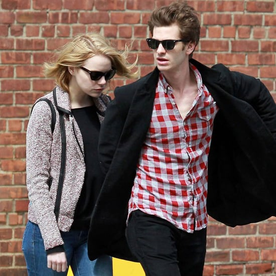 Emma Stone and Andrew Garfield in NYC Pictures
