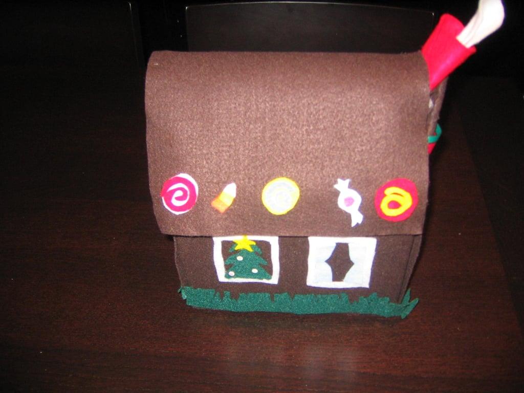 Kidoodles: Felt Gingerbread House