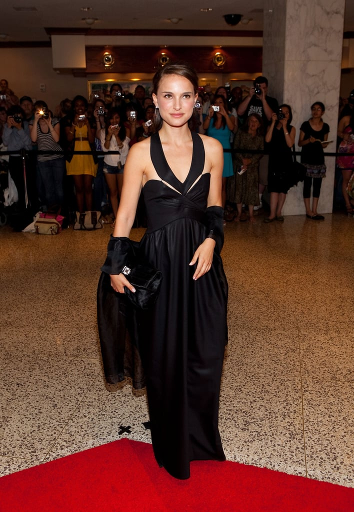 Natalia Portman put a slightly cooler spin on this sophisticated black gown with a little help from Ghesquière at the 2009 White House Correspondents' Dinner.