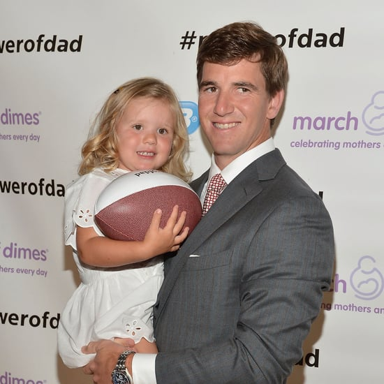 Eli Manning Talks Father's Day and Competitive Parents