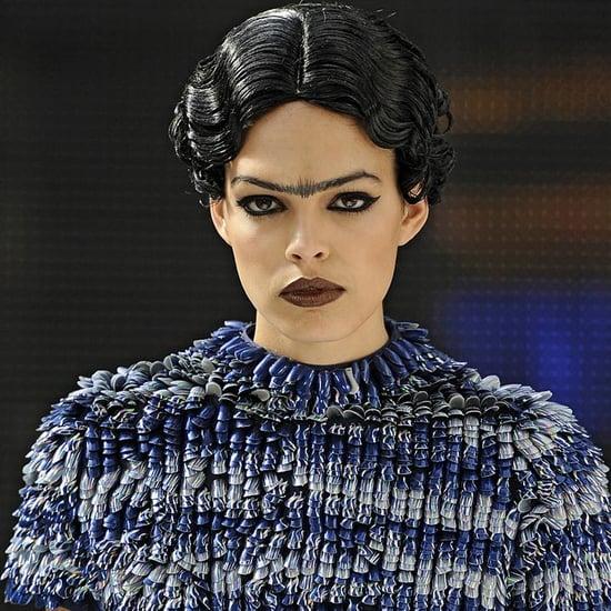 Minx Nail Art Clothing at Spring 2012 Charlie Le Mindu Show