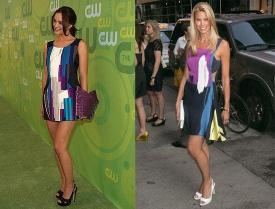 Who Wore It Better? Chloe Colorblock Dress