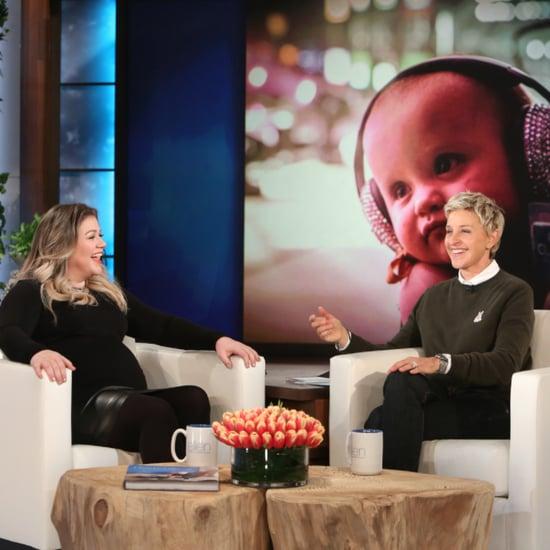 Kelly Clarkson on Ellen March 2016