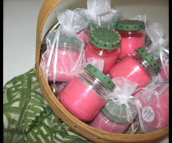 Cook Up a Basket of Colorful Candles