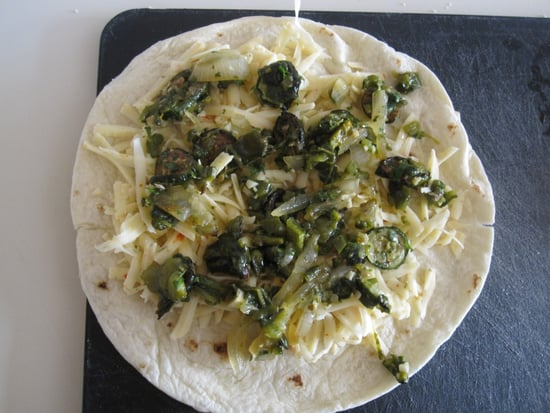 Veggie Quesadilla Recipe 2011-06-29 14:14:22