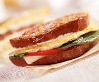 Fast & Easy Dinner: Grilled Egg Sandwich