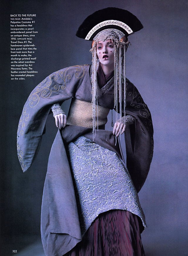 """""""Star Wars Couture,"""" Audrey Marnay, Vogue, April 1999"""