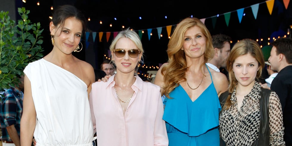 Katie Holmes Lets Loose to Celebrate Summer With Naomi Watts and More