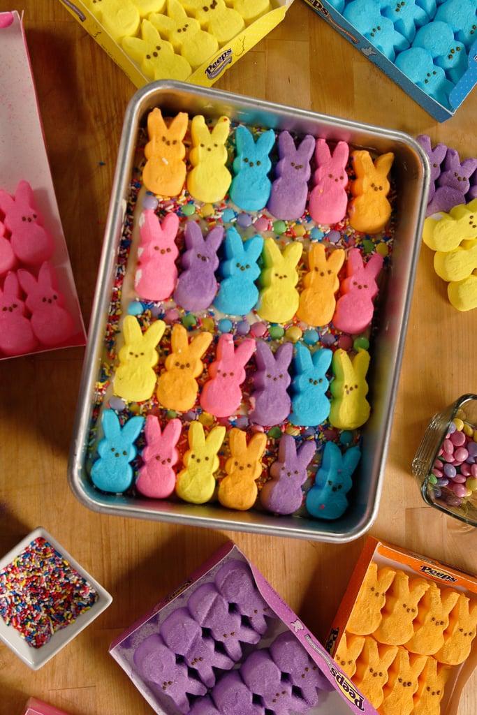 Peeps Funfetti Cookie Bars