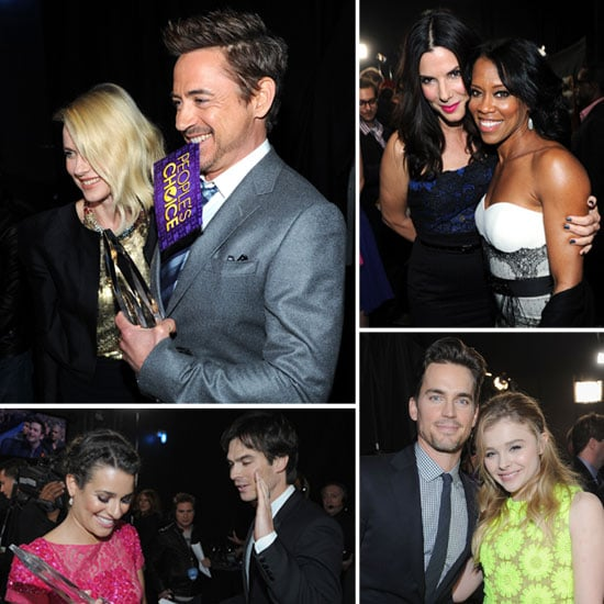 Cute Candids Inside the People's Choice Awards