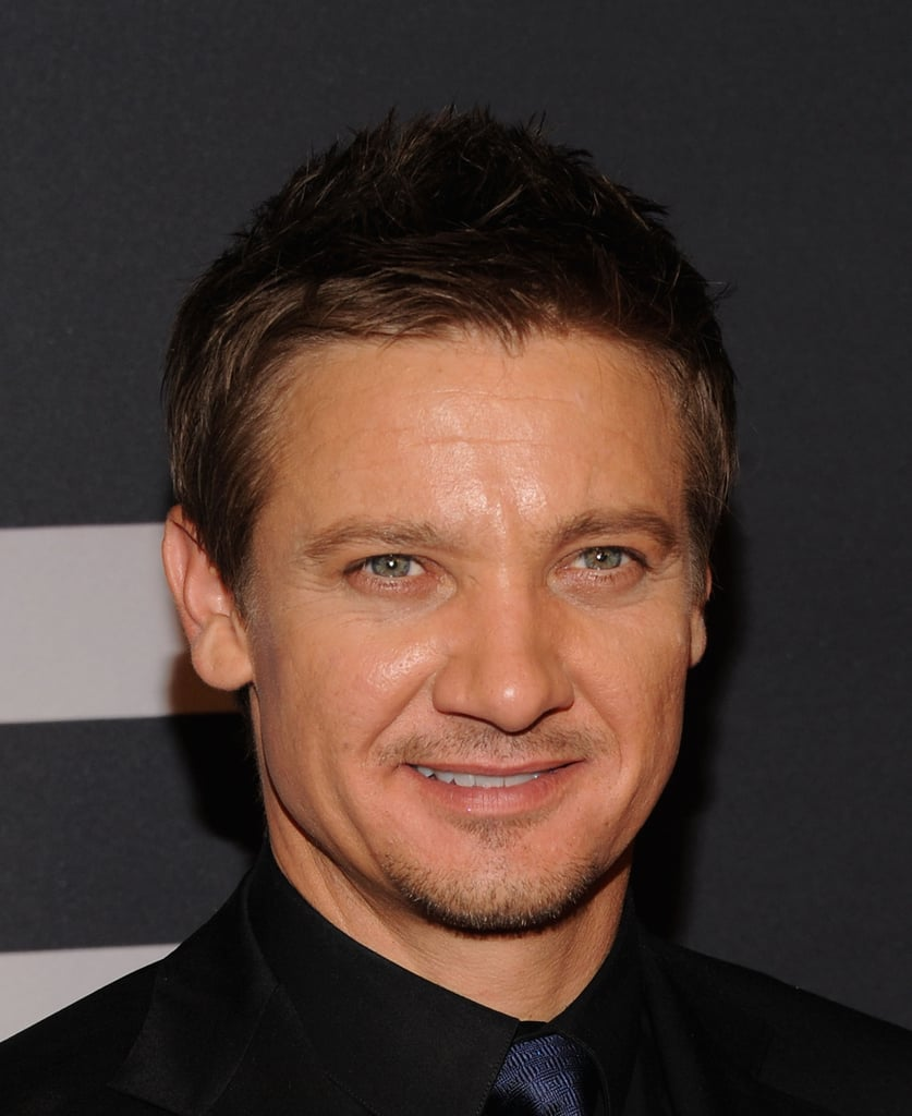 Jeremy Renner gave a smile at the world premiere of The Bourne Legacy in NYC.
