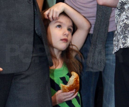 Photo Slide of Suri Cruise in LA With Katie Holmes