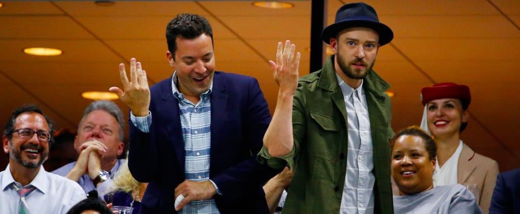 "Justin Timberlake and Jimmy Fallon Do a ""Single Ladies"" Dance Routine at the US Open"