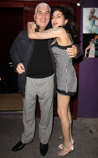 Amy Winehouse and Her Father Mitch At City Burlesque In London