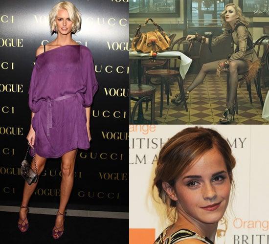 Madonna Louis Vuitton Fall '09 Campaign, Emma Watson Burberry Fall '09 Ad Campaign, Jacquetta Wheeler Gucci Fall '09 Ad Campaign