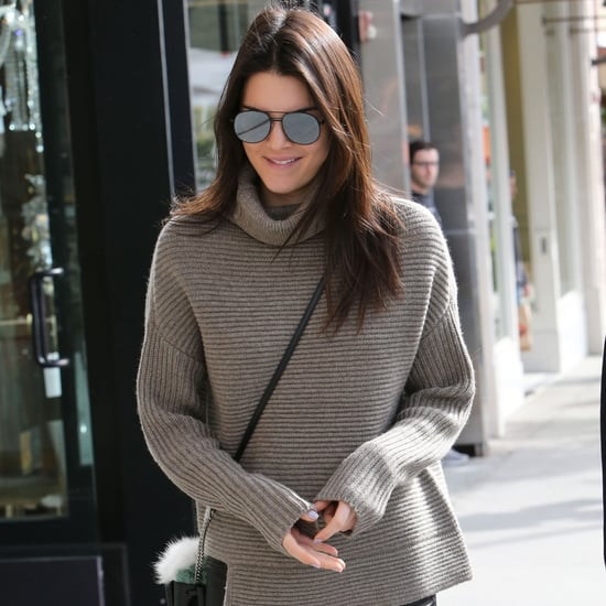 Kendall Jenner Wearing Aritizia Sweater