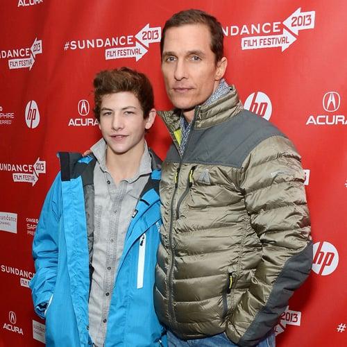 Matthew McConaughey at Mud Premiere at Sundance 2013