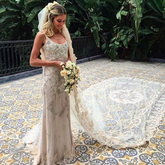 Helena Bordon's Valentino Wedding Dress