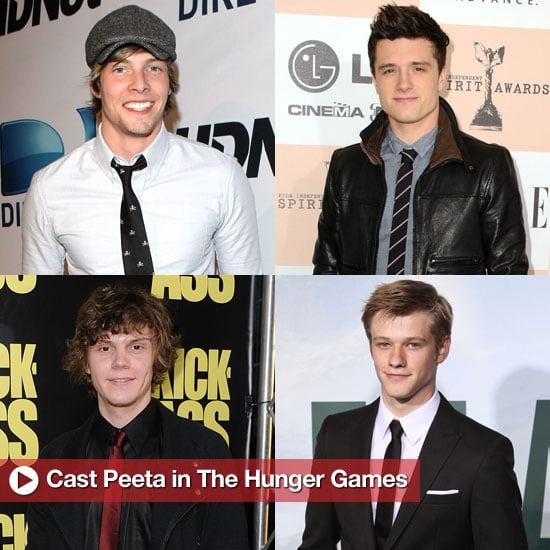 Who's Going to Play Peeta in The Hunger Games Movie
