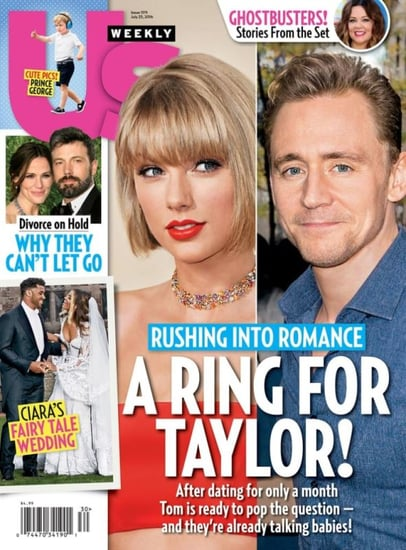 US Weekly reports that Tom Hiddleston is planning on proposing to Taylor Swift