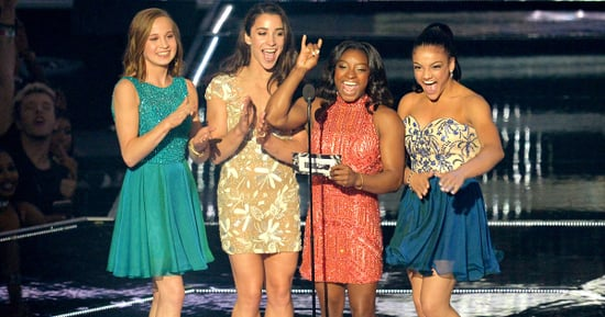 The Final Five Gymnasts, Minus Gabby Douglas, Get Heroines' Welcome at MTV VMAs 2016