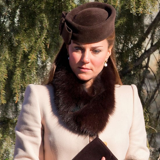 Kate Middleton in Max Mara Leopard Dress at Wedding (Video)