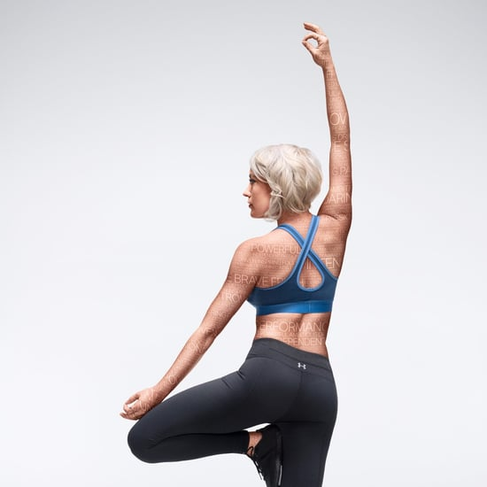 Kathryn Budig Yoga Under Armour Campaign