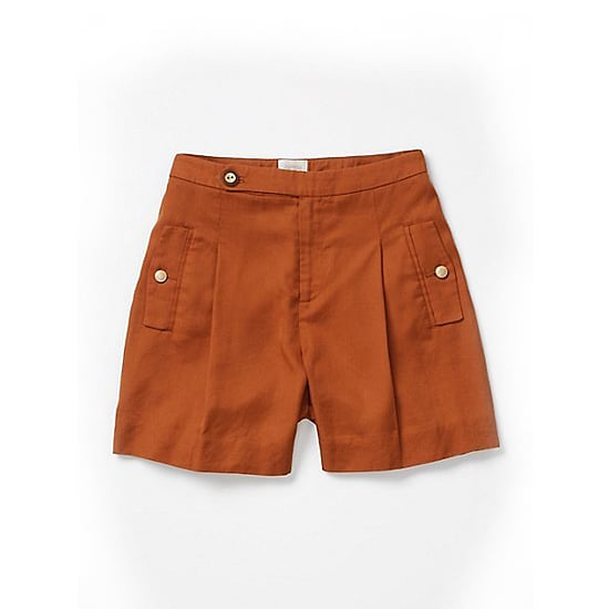 """Coquille Brushed Trouser Shorts, $78   Pair with:   <iframe src=""""http://widget.shopstyle.com/widget?pid=uid5121-1693761-41&look=3445389&width=3&height=3&layouttype=0&border=0&footer=0"""" frameborder=""""0"""" height=""""244"""" scrolling=""""no"""" width=""""286""""></iframe>"""