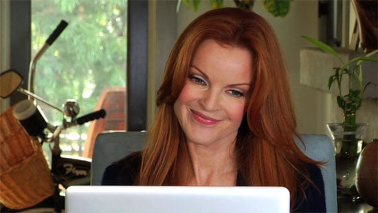 Marcia Cross Gives Thanks Early This Year