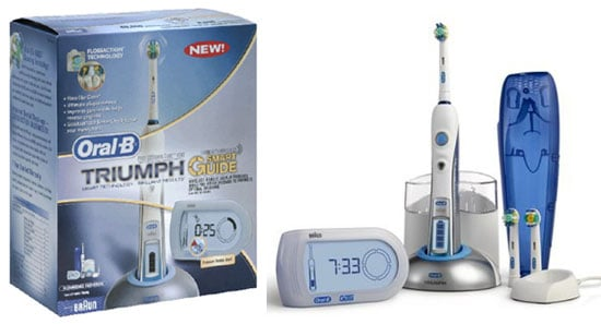 Product Review: Oral-B Triumph Electric Toothbrush