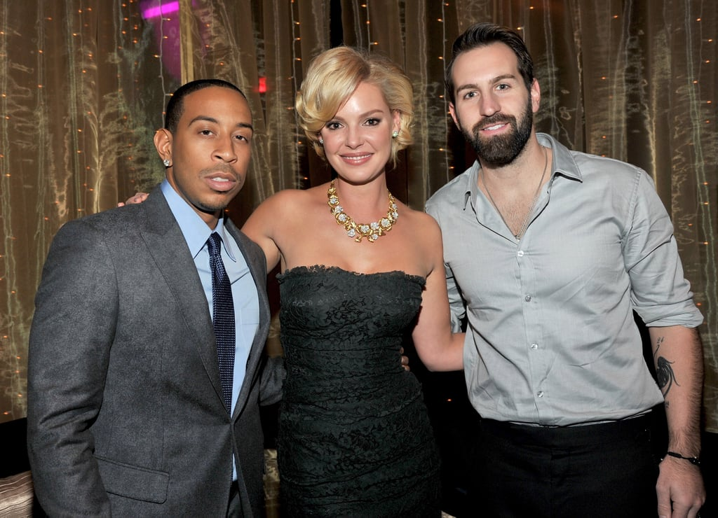Katherine Heigl and Josh Kelley hung out with Ludacris at LA's Grand Ballroom.