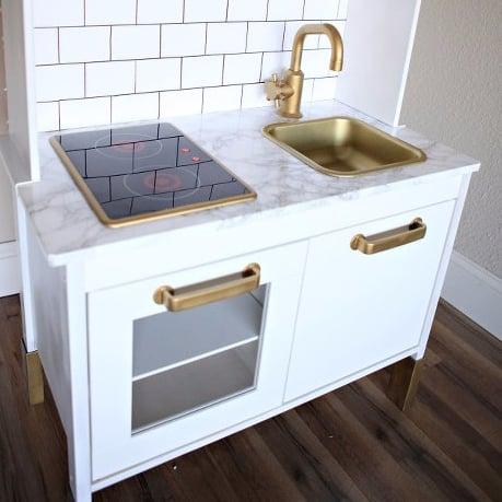 DIY Ikea Play Kitchen