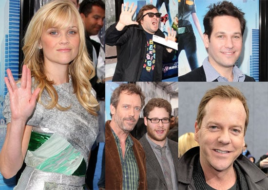 Photos From Monsters Vs Aliens Premiere In LA Including Reese Witherspoon, Paul Rudd, Hugh Laurie, Seth Rogen, Jack Black,