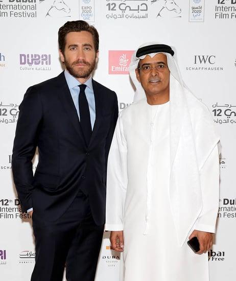 Jake Gyllenhaal honoured at Dubai Film Festival