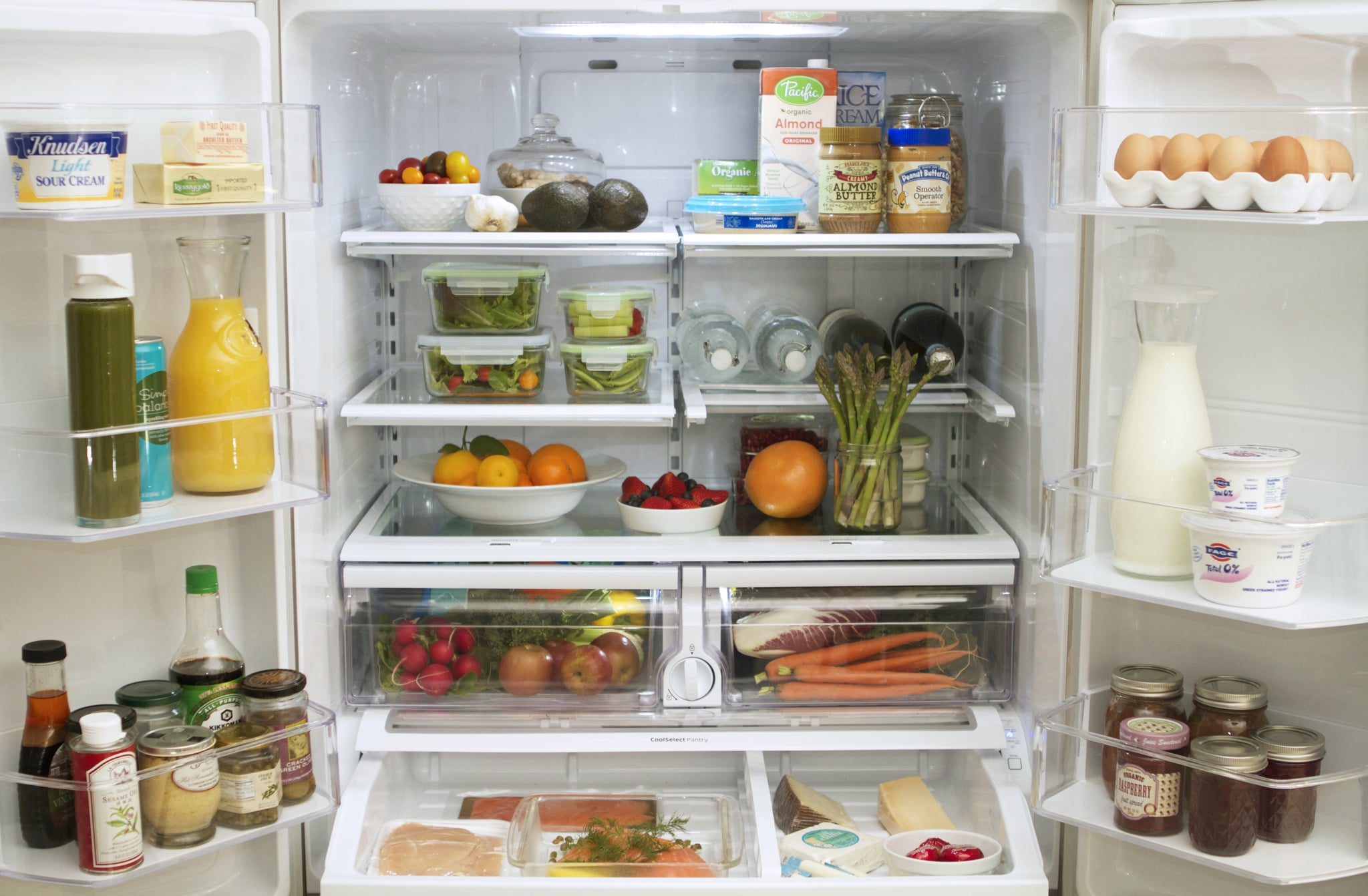 Keep Healthy Snacks Stashed in the Fridge