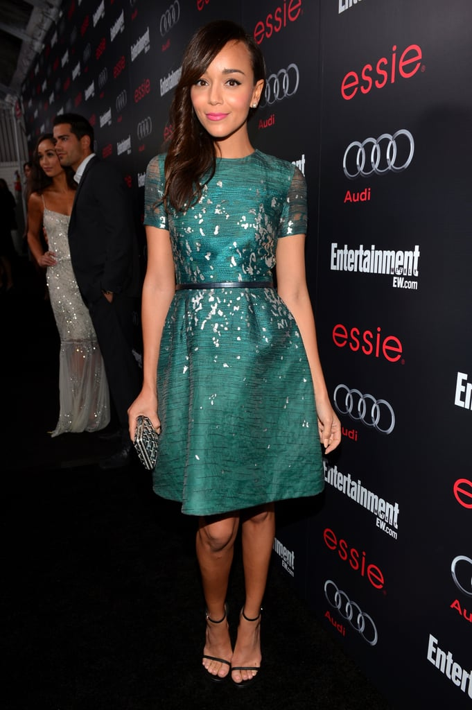 Revenge's Ashley Madekwe sparkled up the black carpet on January 26, when she attended the Entertainment Weekly pre-SAG Party in LA.