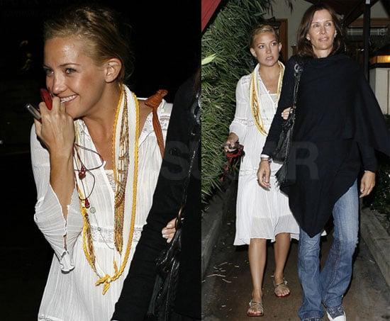 Photos of Kate Hudson at Nobu in LA