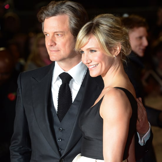 Cameron Diaz and Colin Firth at the Gambit UK Premiere