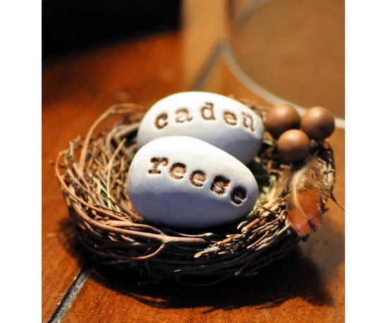 Personalized Eggs