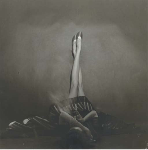 """The Well Dressed Leg,"" Dorian Leigh,  New York, 1948."
