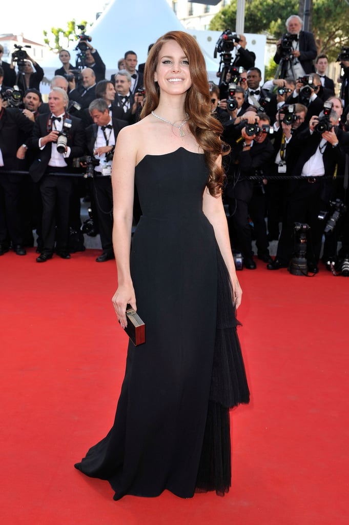 Lana Del Rey wore a block gown to the opening of the Cannes Film Festival and premiere of Moonrise Kingdom.
