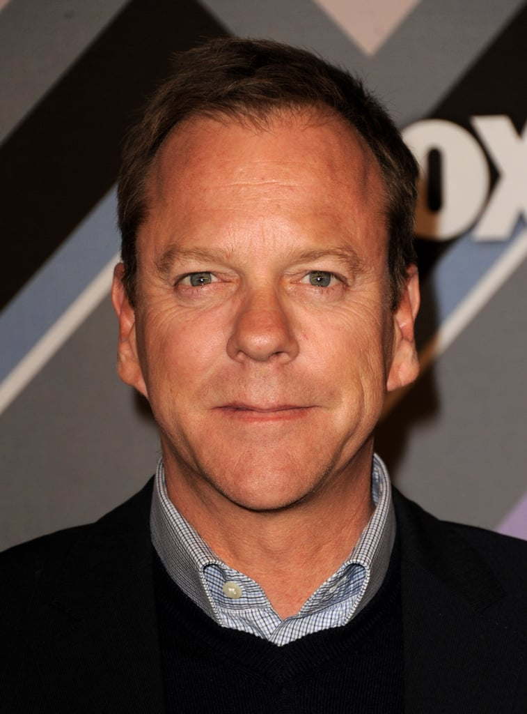 Kiefer Sutherland struck a pose.