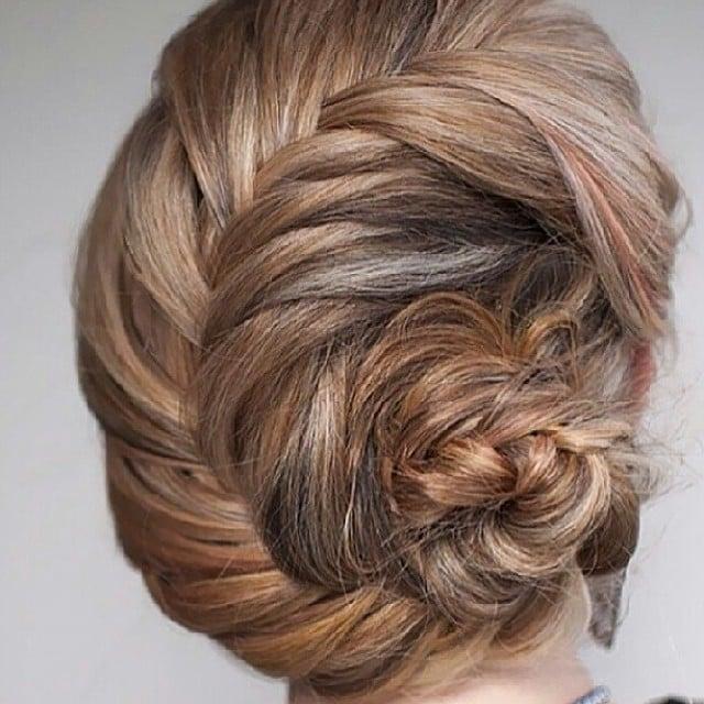Twisted-Braid Bun