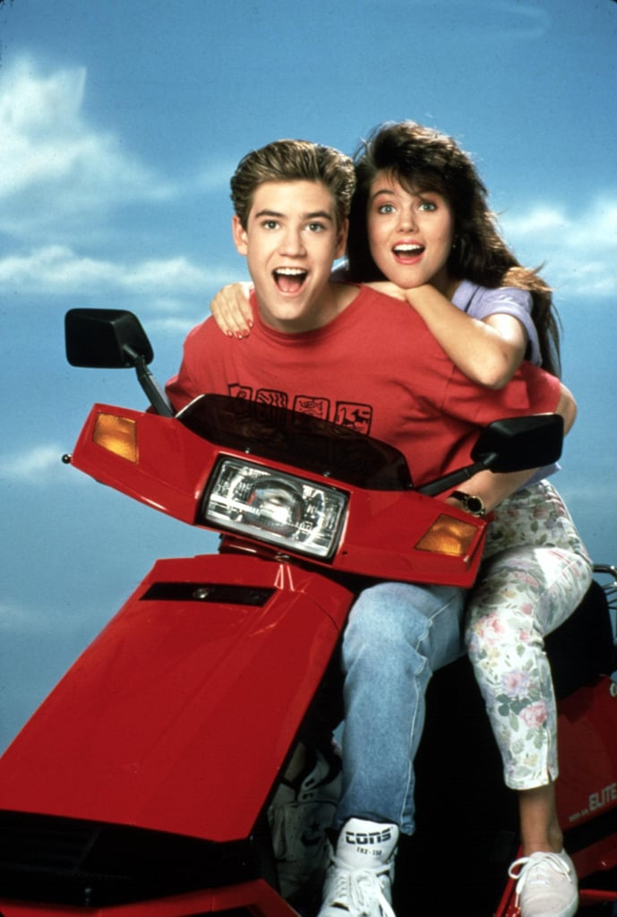 Zack Morris and Kelly Kapowski From Saved by the Bell: The Inspiration