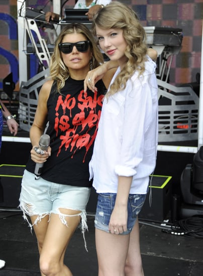 The Show Couldn't Go On For Taylor Swift and Fergie in Central Park