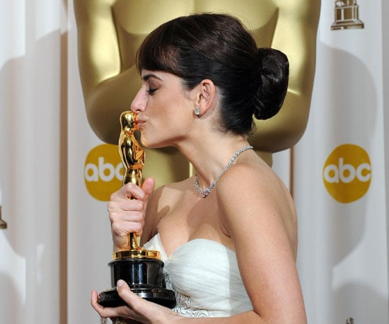 Penelope Cruz Tries Not to Pass Out