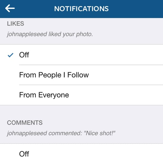 How to Manage Instagram Push Notifications